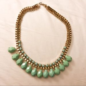 Gold & Turquoise Necklace